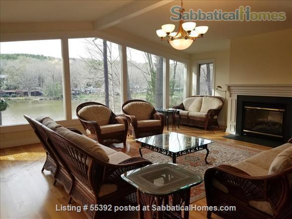 Lakeside living in central Chapel Hill Home Rental in Chapel Hill 0 - thumbnail