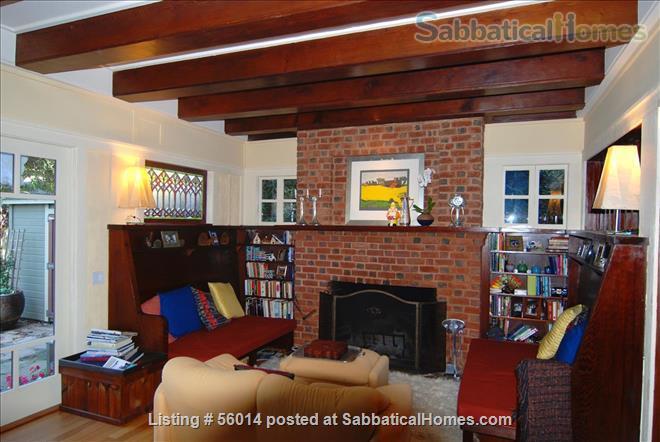 Beautifully Restored 3 BR Arts & Crafts House in Berkeley Home Rental in Berkeley, California, United States 1
