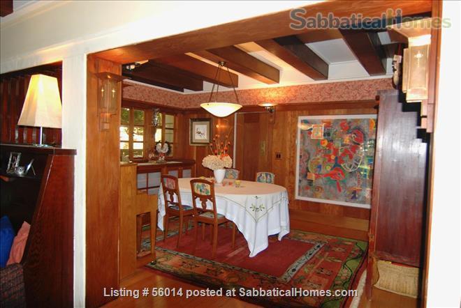 Beautifully Restored 3 BR Arts & Crafts House in Berkeley Home Rental in Berkeley, California, United States 0
