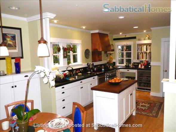Beautifully Restored 3 BR Arts & Crafts House in Berkeley Home Rental in Berkeley, California, United States 2