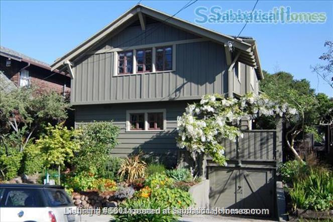 Beautifully Restored 3 BR Arts & Crafts House in Berkeley Home Rental in Berkeley, California, United States 7