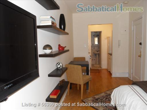 Elegant, sophisticated  studio apt  in NYC's UPPER WEST SIDE available immediately  Home Rental in New York, New York, United States 0