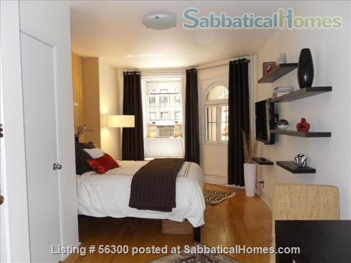 Elegant, sophisticated  studio apt  in NYC's UPPER WEST SIDE available immediately  Home Rental in New York, New York, United States 3