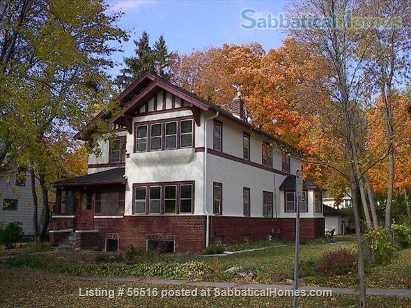 1 Bedroom furnished apartment in duplex close to downtown (Minneapolis and St Paul) and universities Home Rental in Saint Paul, Minnesota, United States 1