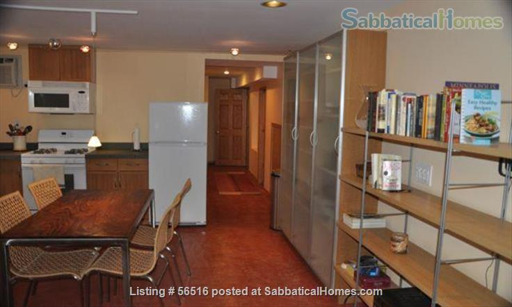 1 Bedroom furnished apartment in duplex close to downtown (Minneapolis and St Paul) and universities Home Rental in St Paul, Minnesota, United States 5