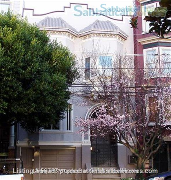 FABULOUS LOCATION & VALUE, SAN FRANCISCO: 2 BR +Den, Light-filled SF Flat Home Rental in San Francisco, California, United States 1