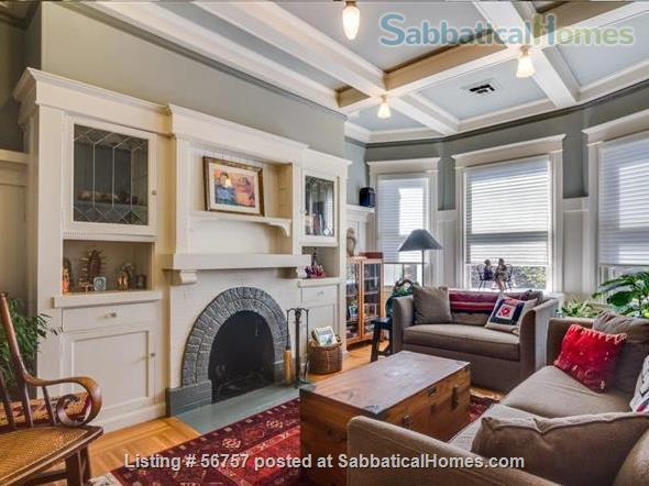 FABULOUS LOCATION & VALUE, SAN FRANCISCO: 2 BR +Den, Light-filled SF Flat Home Rental in San Francisco, California, United States 2