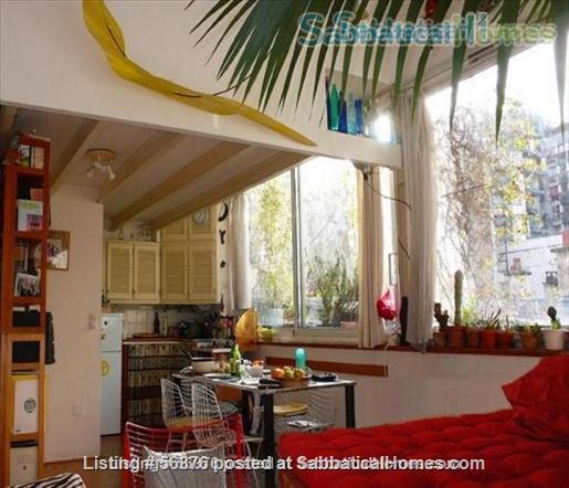 Sunny, ultra-calm Oberkampf loft-style studio   Home Exchange in Paris, IDF, France 1