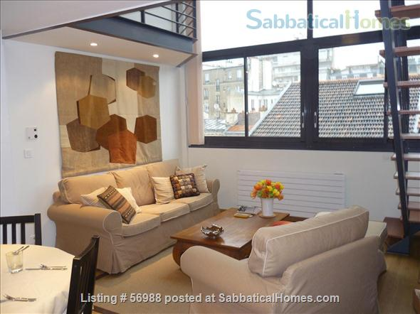 LIGHT-FILLED LOFT, SPACIOUS AND COMFORTABLE   Home Rental in Paris, IDF, France 1
