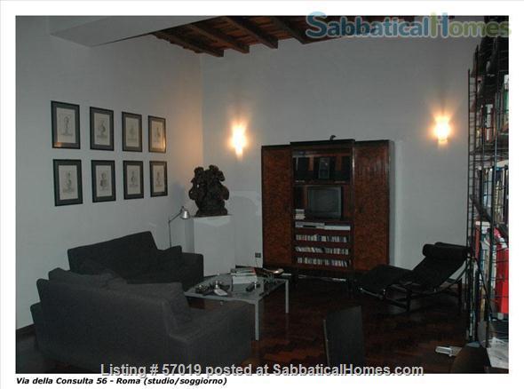 Extraordinary Apartment in Rome Historic Center Home Rental in Rome, Lazio, Italy 3