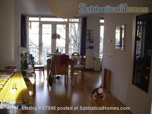 Spacious two-bedroom apartment with two balconies for rent in Amsterdam Home Rental in Amsterdam, NH, Netherlands 3