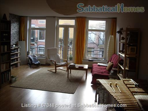 Spacious two-bedroom apartment with two balconies for rent in Amsterdam Home Rental in Amsterdam, NH, Netherlands 1