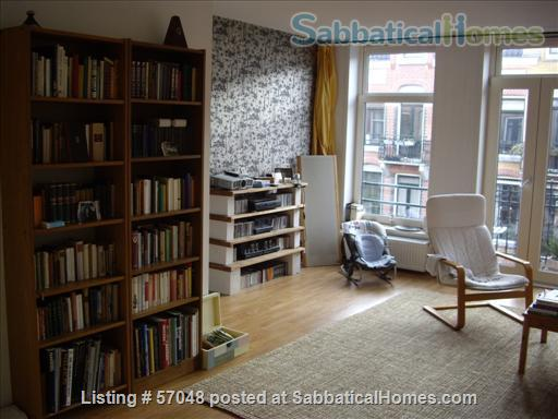 Spacious two-bedroom apartment with two balconies for rent in Amsterdam Home Rental in Amsterdam, NH, Netherlands 0