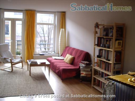 Spacious two-bedroom apartment with two balconies for rent in Amsterdam Home Rental in Amsterdam, NH, Netherlands 2