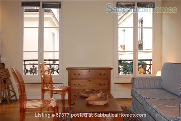 Superb 2-room flat in Latin Quarter of Paris Home Rental in Paris, IDF, France 1