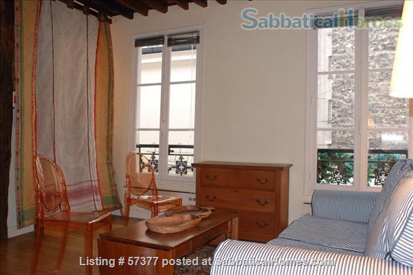 Superb 2-room flat in Latin Quarter of Paris Home Rental in Paris, IDF, France 0