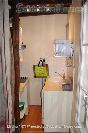 Superb 2-room flat in Latin Quarter of Paris Home Rental in Paris, IDF, France 5