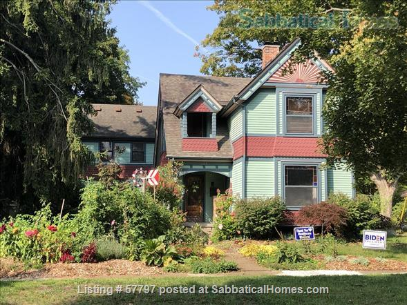 Large Queen Ann Victorian blocks from Kerrytown and Central Campus Home Rental in Ann Arbor, Michigan, United States 1