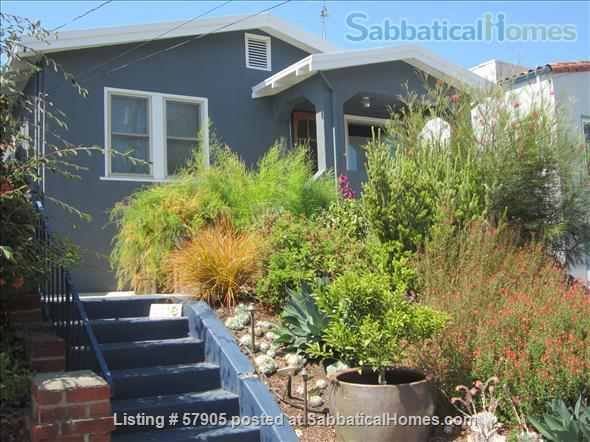 Cozy 3 Bedroom Bungalow with Vegetable Garden and Chickens Home Rental in Albany, California, United States 6
