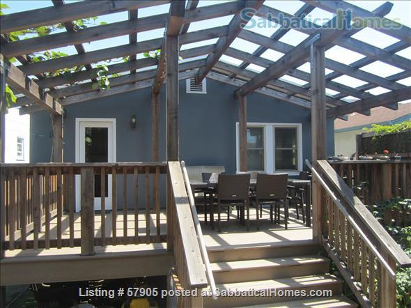 Cozy 3 Bedroom Bungalow with Vegetable Garden and Chickens Home Rental in Albany, California, United States 7