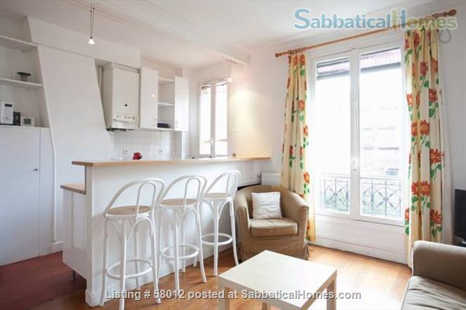 New furnished, calm and sunny 3 rooms apartment in Paris 14e, at the heart of the artist area Home Rental in Paris, Île-de-France, France 1