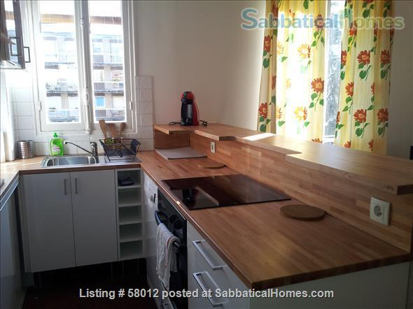 New furnished, calm and sunny 3 rooms apartment in Paris 14e, at the heart of the artist area Home Rental in Paris, Île-de-France, France 2