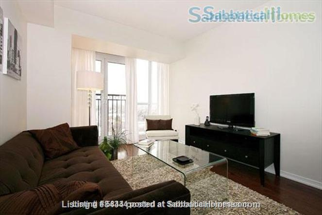 Furnished modern condo in Little Italy at the Europa with parking Home Rental in Toronto, Ontario, Canada 0