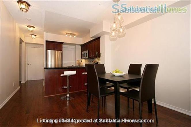 Furnished modern condo in Little Italy at the Europa with parking Home Rental in Toronto, Ontario, Canada 2