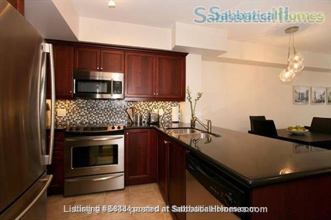 Furnished modern condo in Little Italy at the Europa with parking Home Rental in Toronto, Ontario, Canada 3