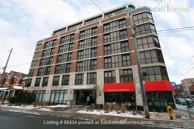 Furnished modern condo in Little Italy at the Europa with parking Home Rental in Toronto, Ontario, Canada 8