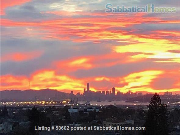 Beautiful San Francisco Area view home Home Rental in Oakland, California, United States 0