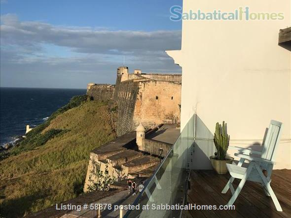 Beautiful Old San Juan Apartment with Spectacular Ocean Views and Huge Roof Deck Home Rental in San Juan, San Juan, Puerto Rico 1