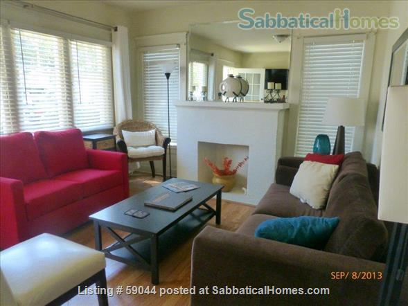 Charming 2 brm. furnished bungalow in Santa Monica Home Rental in Santa Monica, California, United States 1