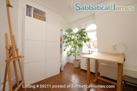 Beautiful, spacious and light 2 bdrm & study, W9 Central London; very quick, easy access to all London colleges and universities. Home Rental in London, England, United Kingdom 2