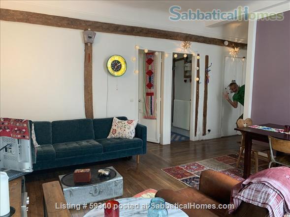 Montmartre! Charming 2 bedroom apartment! Home Rental in Paris, IDF, France 2