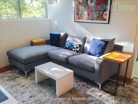 Beautiful, private, fully furnished 1-BR, plus study, for 1 person Home Rental in Woodbridge, Connecticut, United States 3