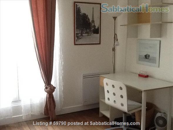 Large and luminous 2 room-flat. Home Rental in Paris, Île-de-France, France 2