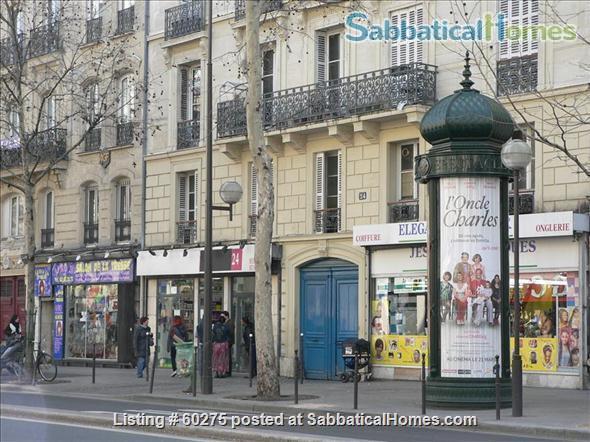 Spacious, calm, charming 4 rooms apartment in the Center of Paris. Home Rental in Paris, Île-de-France, France 8