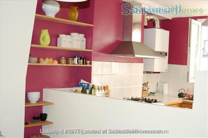 Spacious, calm, charming 4 rooms apartment in the Center of Paris. Home Rental in Paris, Île-de-France, France 4