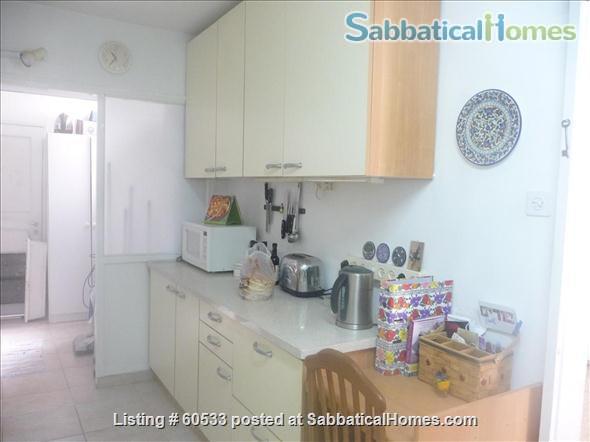 Spacious apartment in Jerusalem, near Hebrew U. Mount Scopus, French Hill Home Rental in Jerusalem, ,  5