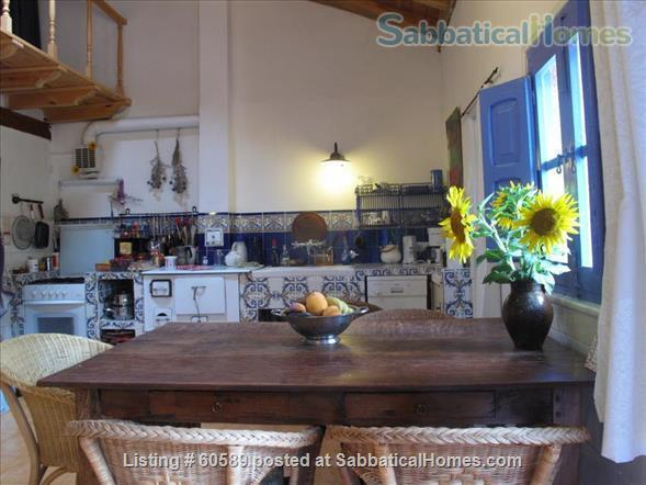 Cosy retreat  in the heart of Spain:  Cottage + studio  for rent in historic Almazán, province of Soria. Home Rental in Almazán, CL, Spain 0