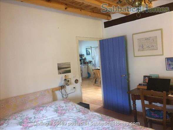 Cosy retreat  in the heart of Spain:  Cottage + studio  for rent in historic Almazán, province of Soria. Home Rental in Almazán, CL, Spain 7