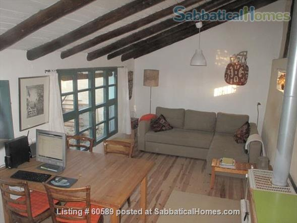 Cosy retreat  in the heart of Spain:  Cottage + studio  for rent in historic Almazán, province of Soria. Home Rental in Almazán, CL, Spain 8