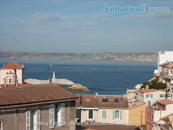 One Bedroom Flat at the garden level near the Vieux Port   Home Rental in Marseille, PACA, France 1