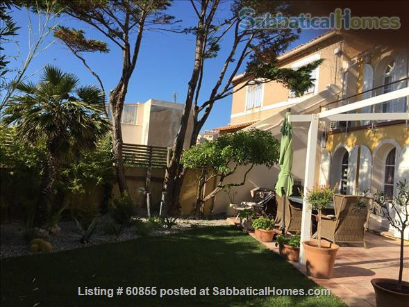 One Bedroom Flat at the garden level near the Vieux Port   Home Rental in Marseille, PACA, France 0