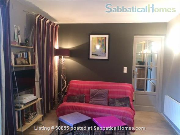One Bedroom Flat at the garden level near the Vieux Port   Home Rental in Marseille, PACA, France 2