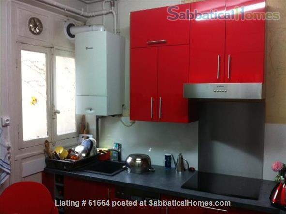 LARGE AND SUNNY APPARTMENT IN PARIS Home Rental in Paris, Île-de-France, France 7