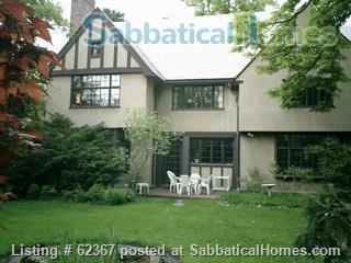 Classic Home Sleeps 6; a/c;  garden; near 5 universities, hospitals, MTA Home Rental in Brookline, Massachusetts, United States 1