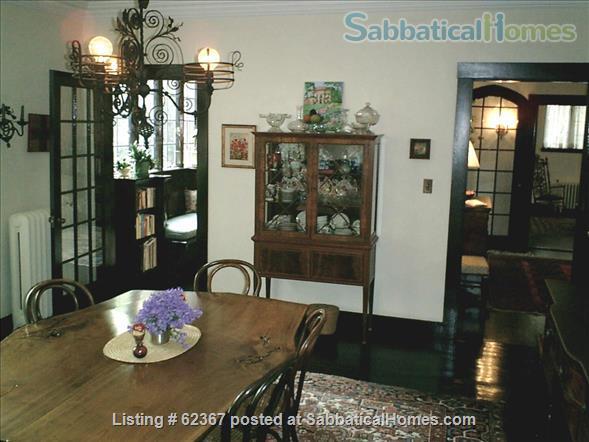 Classic Home Sleeps 6; a/c;  garden; near 5 universities, hospitals, MTA Home Rental in Brookline, Massachusetts, United States 3