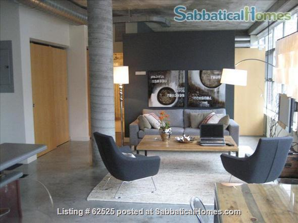 Furnished industrial Loft in Downtown Toronto, Fashion District Home Rental in Toronto 1